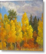 Clouds Of October Metal Print