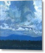 Clouds On The Kootenai Metal Print