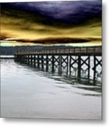 Clouds Over Illahee Metal Print