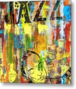 Club De Jazz Metal Print by Sean Hagan