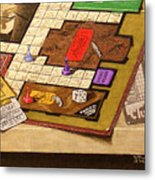 Clue The Case Is Solved Metal Print