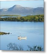Co Mayo, Ireland Fishing Boat In Clew Metal Print
