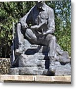 Coal Miner's Tribute  Metal Print