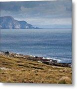 Coast Of Achill Island Metal Print