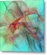 Coastal Kite Metal Print