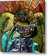 Coffee Goddess Metal Print