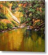 Cold Water Creek II Metal Print