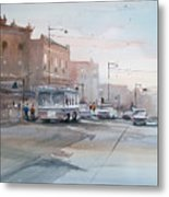 College Avenue - Appleton Metal Print
