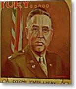 Colonel Joseph J. Healy Metal Print by Dean Gleisberg