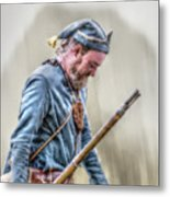 Colonial French Soldier  Metal Print