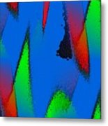 Color Collaboration Metal Print