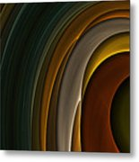 Color Curves Metal Print