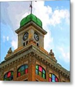 Color Of City Hall Metal Print