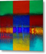 Color State Metal Print