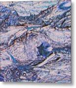 Colorado Mining Relics Metal Print