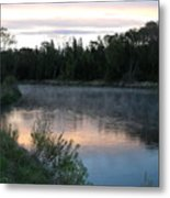 Colorful Dawn Reflections Metal Print