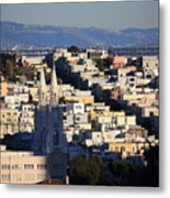Colorful San Francisco Metal Print
