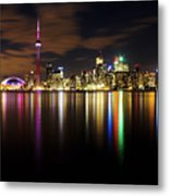 Colorful Toronto Metal Print