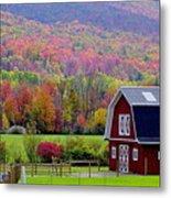 Colors Of New England Metal Print