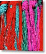 Colors Of Tibet Metal Print by Michele Burgess