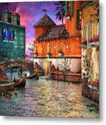 Colors Of Venice Metal Print by Joel Payne