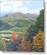 Colors On Parkway Metal Print