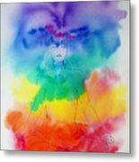 Colour Meditation Metal Print