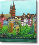 Colours Of Basel Metal Print