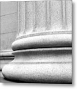 Column Base  Metal Print