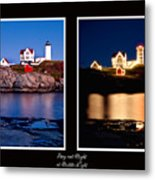 Combined Nubble Metal Print