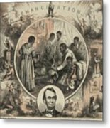 Commemoration Of The Emancipation Metal Print