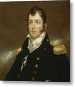 Commodore Oliver Hazard Perry Metal Print