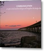 Communication Metal Print by Pathways Life  Coaching