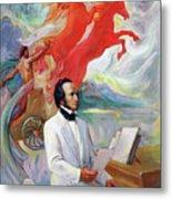 Composer Felix Mendelssohn Metal Print
