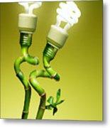 Conceptual Lamps Metal Print