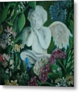 Concrete Angel Metal Print