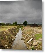 Concrete River 2 Metal Print by Matthew Angelo