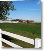 Connecticut Dairy Farm Metal Print