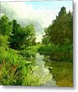 Constable Country Metal Print by Wu Wei