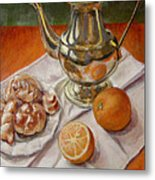 Continental Breakfast Metal Print