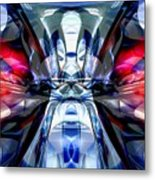 Convergence Abstract Metal Print by Alexander Butler