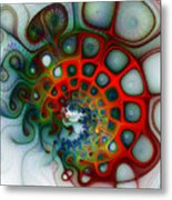 Convolutions Metal Print