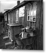 Cool Shack Too Metal Print