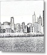 Cooler By The Lake Metal Print by David Bearden