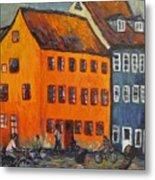 Copenhagen Metal Print