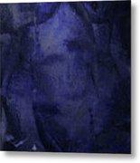 Copious Blue Metal Print