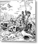 Copley Shark Metal Print