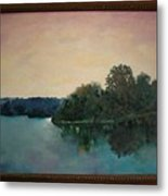 Copper Creek Afternoon Metal Print