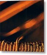 Copper Wirework. Metal Print