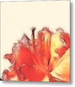 Coral Rhododendron Metal Print by Lynn Bolt